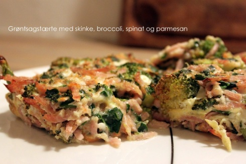 Grøntsagstærte 1