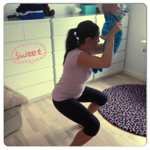 Baby workout 3