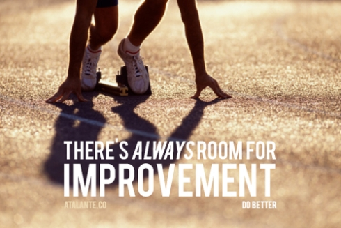 Room for improvement